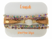 Erimish Druzy Rose Gold Bracelet Pack - SPECIAL OFFER