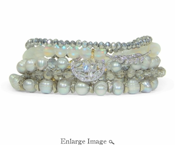 Erimish Newlywed Bracelet Stack - SPECIAL OFFER