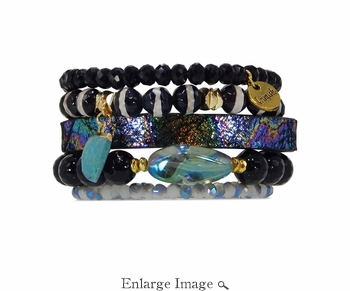 Erimish Pinot Bracelet Deluxe Stack - SPECIAL OFFER