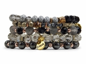 SOLD OUT Erimish Whiskey Bracelet Stack - SPECIAL OFFER