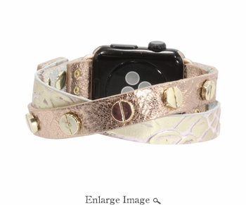 SOLD OUT Erimish  Crisscross Rosey Apple Watch Band - SPECIAL OFFER