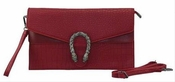 """Iconic """"G"""" Clutch Red - Special Offer"""
