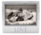 Mariposa Love Beaded 4 X 6 Frame- CLOSEOUT