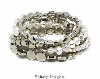 Marlyn Schiff Avalon Multishape Metal Bracelet Set