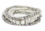 Marlyn Schiff Carson 7 Strand Beaded Bracelet Set - Special Offer 40% OFF