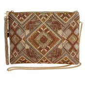 Mary Frances Bag Symmetry Mocha