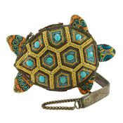 Mary Frances Bag Turtle By The Sea