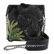Mary Frances Black Panther Bag