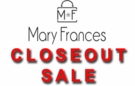 Mary Frances Closeouts and Specials