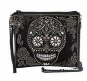 Mary Frances Crystal Skull Bag