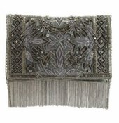 Mary Frances Roaring 20s Antique Pewter Bag