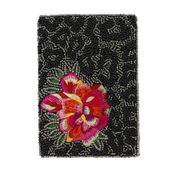 Mary Frances Wild Flower Passport Holder