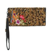 Mary Frances Wild Garden Wallet / Wristlet