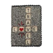 Mary Frances Word Play Passport Holder