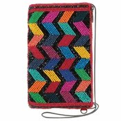 Mary Frances Zig Zag Black Crossbody