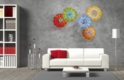 Viz Wall Art Glass Nova Collection
