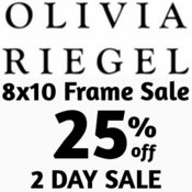 Olivia Riegel 8x10 Frame 25% OFF 2 DAY SALE