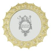 Olivia Riegel Gold Windsor Round Frame