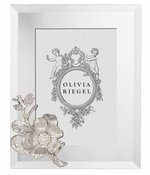 """Olivia Riegel SILVER BOTANICA 5"""" x 7"""" FRAME - Shipping March"""