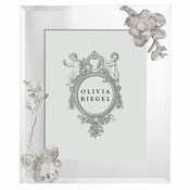 """Olivia Riegel SILVER BOTANICA 8"""" x 10"""" FRAME - Shipping March"""