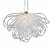 Orion Chandelier Clear Mini by Viz Glass