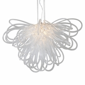 Orion Chandelier Clear Small by Viz Glass