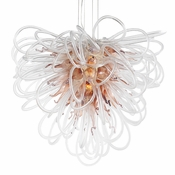 Orion Chandelier Copper Large by Viz Glass