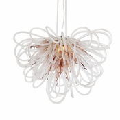 Orion Chandelier Copper Mini by Viz Glass