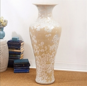 Tozai Home Classic Urn With Mother Of Pearl Effect