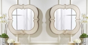 Tozai Home Curvature Wall Mirrors - Set of 2