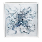 Tozai Home Hand Painted Octopus Wall Art