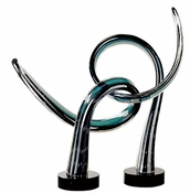 Unity Sculpture by Viz Glass