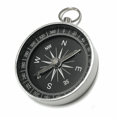 Scout Aluminum Pocket Compass