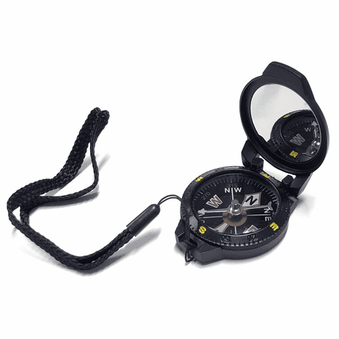 Black Pocket Compass