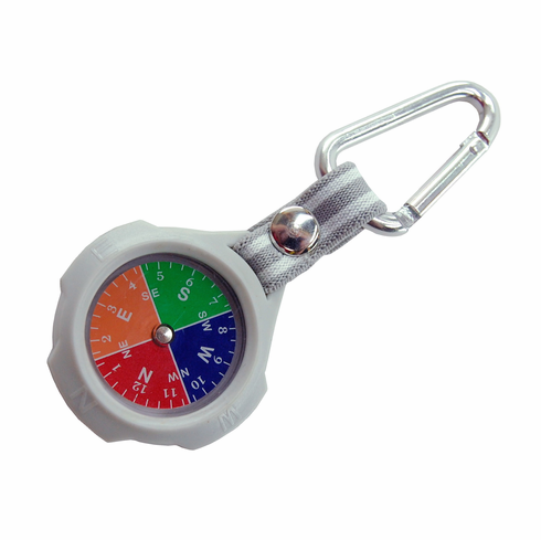 Rubber Key-Chain Compass