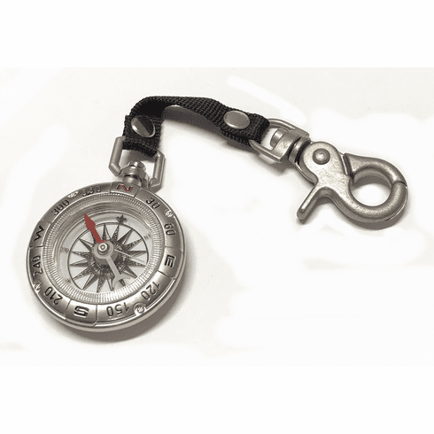 Pocket Compass w/Snap Hook