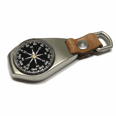 Metal Key-Chain Compass