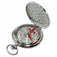 Treknor Pocket Compass - Silver