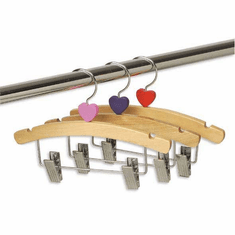 10in. Combination Hanger with Hearts (Box of 48)