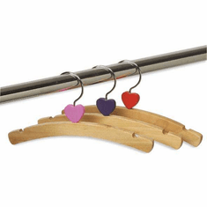 10in. Top Hanger with Hearts (Box of 48)