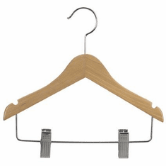 11 Inch Wood Suit Hanger (Box of 100)