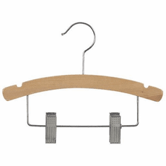 12 Inch Combination Wood Hanger (Box of 100)