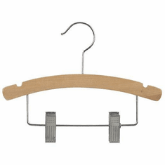 14 Inch Combination Wood Hanger (Box of 100)