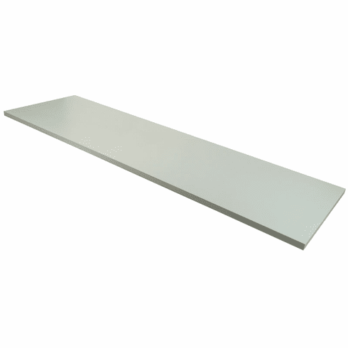 14in.x 48in. Wood Melamine Shelf White