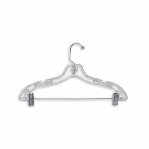 17in. Plastic Suit / Combo Hanger (Box of 100)