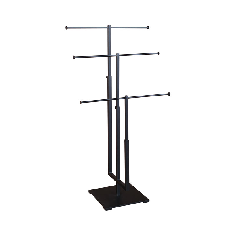 3 Tier Jewelry Stand Matte Black Jpg