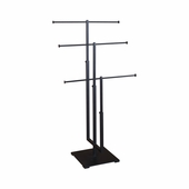 3-Tier Jewelry Stand Matte Black