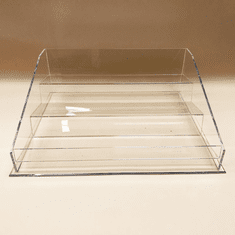 3 Tier Wallet Display Acrylic