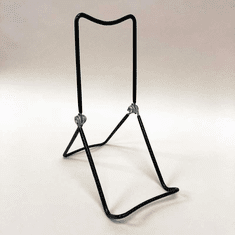 3 Tiered Adjustable Wire Easel Black (Dozen)