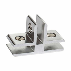 3 Way Panel Connector 90 Degree Bright Chrome